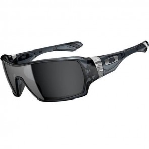 Oakley Offshoot Polarized Sunglasses - Crystal Black/Black Iridium