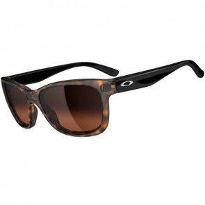 Oakley Women's Forehand Sunglasses - Tortoise/Black/Dark Brown Gradient