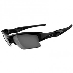 Oakley Flak Jacket XLJ Polarized Sunglasses - Jet Black/Black Iridium