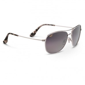 Maui Jim Cliff House Sunglasses - Silver/Neutral Grey