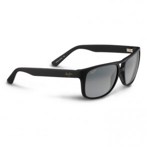Maui Jim Waterways Sunglasses - Matte Black Rubber/Neutral Grey