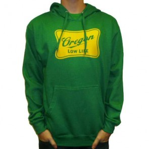Cleanline Low Life Pullover Hoodie - Kelly Green/Yellow