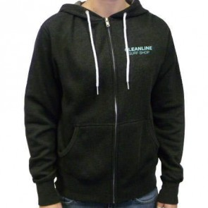 Cleanline Seaside Happy Day Zip Hoodie - Charcoal