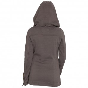 Rip Curl Women's Darcy Fleece Jacket - Charcoal Grey