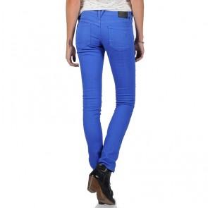 Volcom Women's Soundcheck Skinny Jeans - Vintage Blue