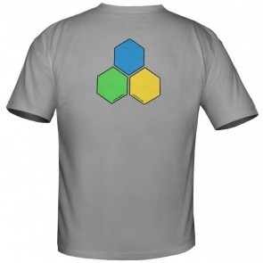 Channel Islands Curren GYB Hex T-Shirt - Grey