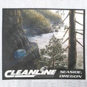 Cleanline Coast Highway Hoodie - Lite Steel
