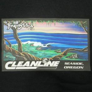 Cleanline Cliff Bombs Hoodie - Black