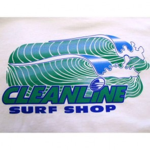 Cleanline Retro T-Shirt - White