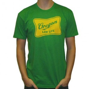 Cleanline Low Life T-Shirt - Kelly Green/Yellow