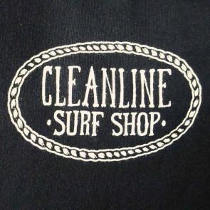 Cleanline Anchor Hoodie - Black