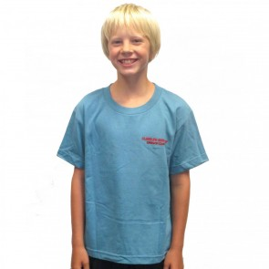 Cleanline Youth Bones T-Shirt - Slate Blue