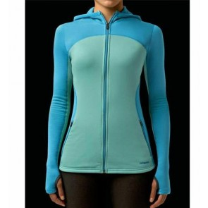Patagonia Women's Capilene 4 Full-Zip Hoody - Nile Blue