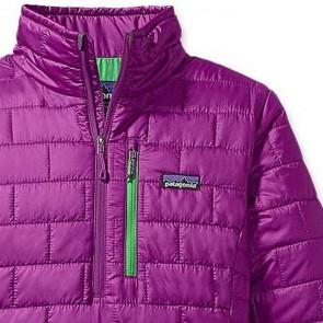 Patagonia Women's Nano Puff Pullover Jacket - Ikat Purple