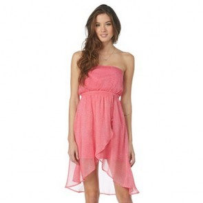 Roxy Women's Luna Dress - Rosy Pink
