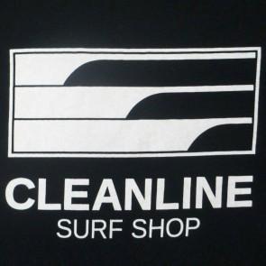 Cleanline Lines Zip Hoodie - Black/White