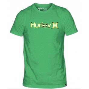 Hurley One & Only Dimension T-Shirt - Neon Lime