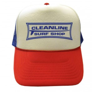 Cleanline Longboard Mesh Hat - Red/White/Blue