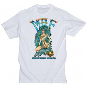 Lib Tech MILF Tee - White
