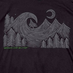 HippyTree Aspen Tee - Black