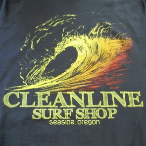 Cleanline Graphite Sunset T-Shirt - Black