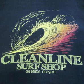 Cleanline Graphite Sunset Hoodie - Black