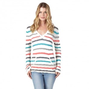 Roxy Women's White Caps 3 Sweater - Sea Spray