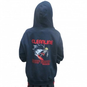 Cleanline Youth Bones Hoodie - Navy