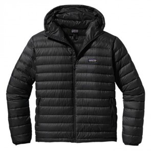 Patagonia Down Sweater Full-Zip Hoody Jacket - Black