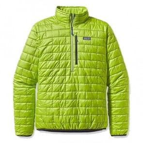Patagonia Nano Puff Pullover Jacket - Lotus Green