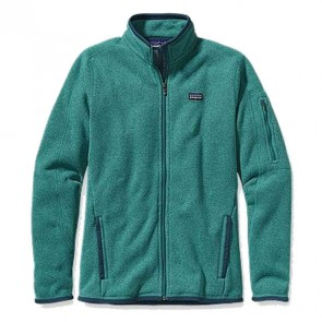 Patagonia Women's Better Sweater Jacket - Teal Green