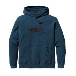 Patagonia Hooded Monk Surf Bike Hoodie - Deep Space