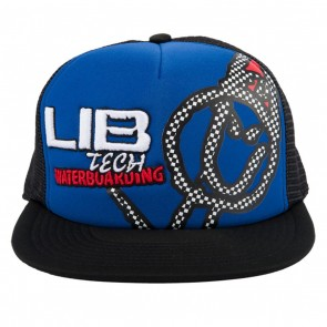 Lib Tech Checker Trucker Hat - Blue