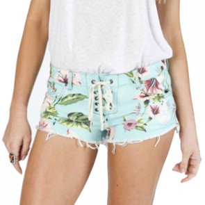 Billabong Women's Lite Hearted Shorts - Mo Mint