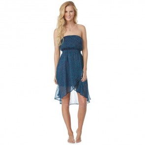 Roxy Women's Luna Dress - Indigo Ditsy