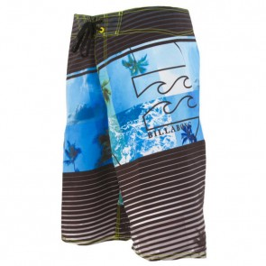 Billabong Youth Burning Up Boardshorts - Black