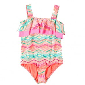 O'Neill Youth Sunsets Swimsuit - Coral