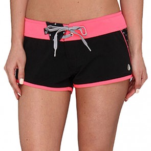 Volcom Women's Scallopini Boardshorts - Black