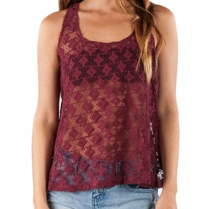 Element Women's Allison Tank - Wine