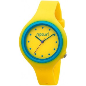 Rip Curl Aurora PU Watch - Yellow/Blue