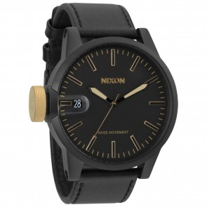 Nixon Watches - The Chronicle - Matte Black/Gold