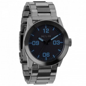 Nixon Watches - The Private SS - Gunmetal/Blue