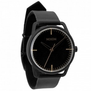 Nixon Watches - The Mellor - Matte Black/Gold