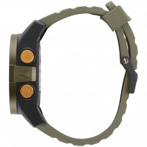 Nixon Watches - The Unit - Surplus/Black/Orange Ano