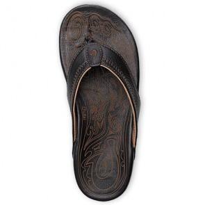 Olukai Hiapo Sandals - Black