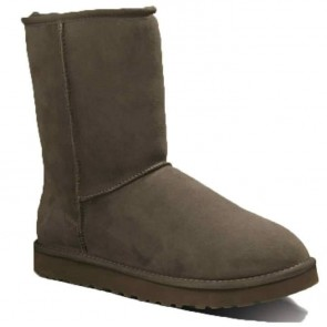 UGG Australia Men's Classic Short Boots - Chocolate