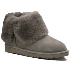 UGG Australia Classic Bailey Button Boots - Grey