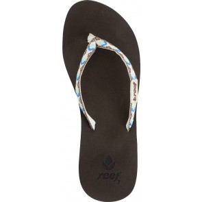 Reef Ginger Sandals - Brown/White/Blue