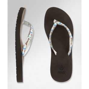 Reef Women's Ginger Sandals - Brown/White/Blue
