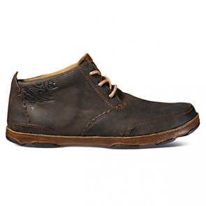 Olukai Kamuela Boots - Dark Wood/Toffee
